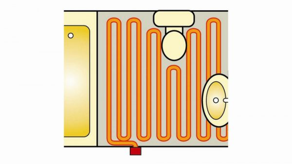Underfloor Heating Loose Cable System