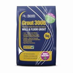 Tilemaster Grout 3000 Powdered Grout – 5kg
