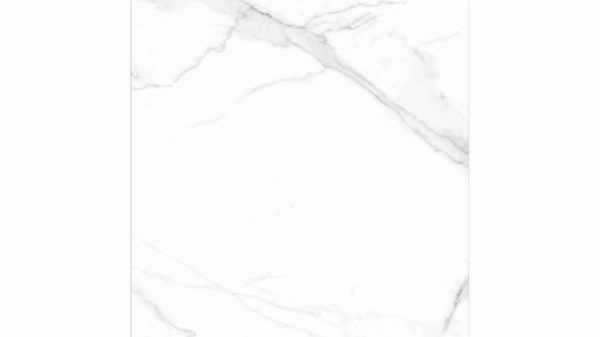 White Marble Effect Rectified Glossy 60x60cm