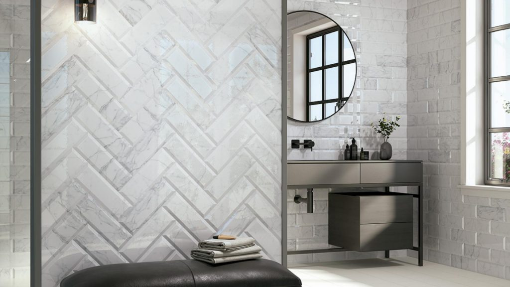 Carrara Brillo Wall Tiles