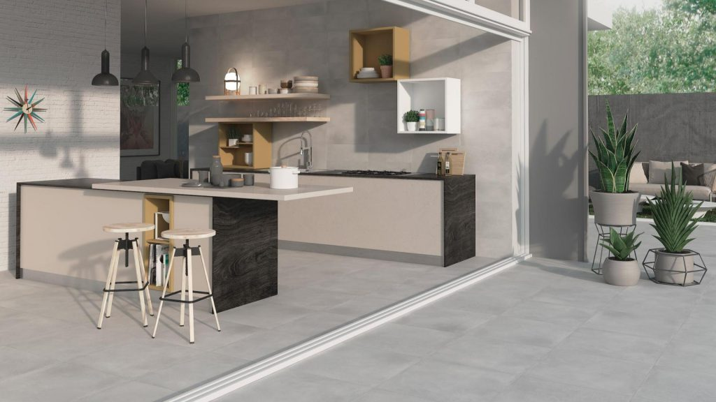 Concrete Floor & Wall Tiles