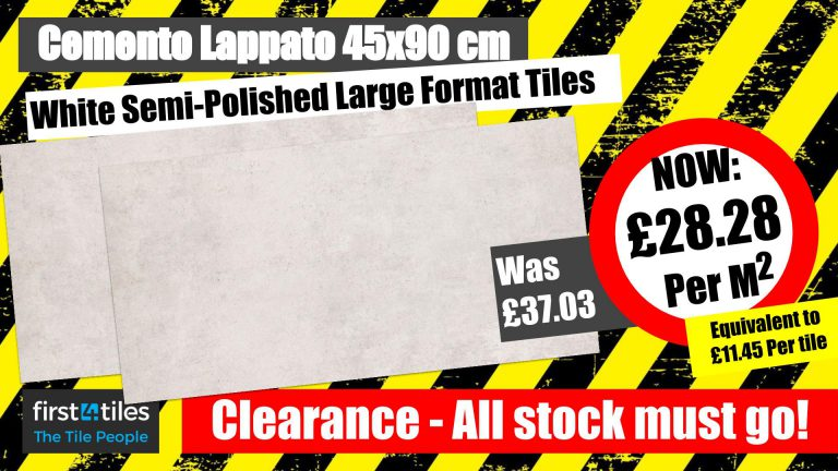 Clearance - Cemento Lappato