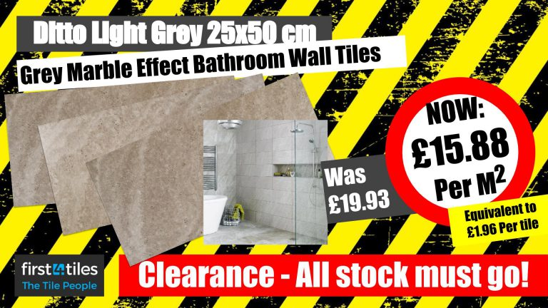 Clearance - Ditto Light Grey Wall