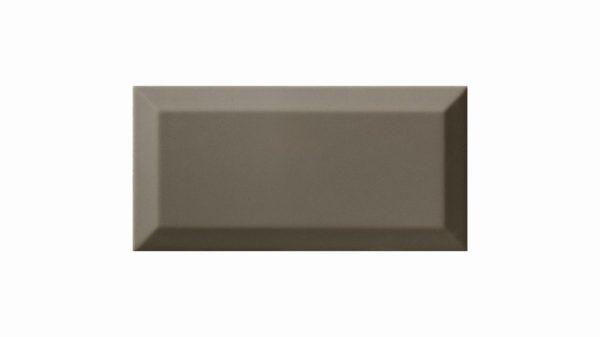 Bisel Brillo Dark Grey Glossy 10x20cm