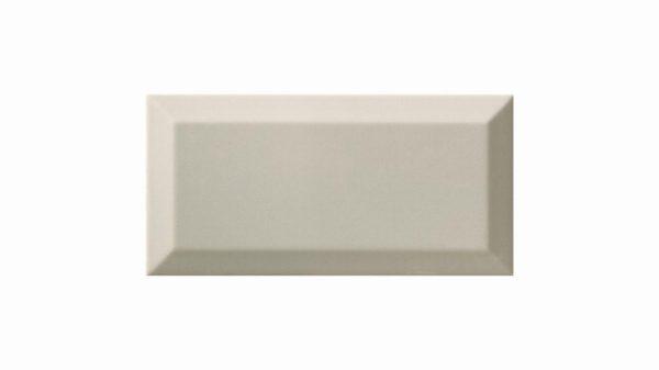 Bisel Brillo Light Grey Glossy 10x20cm