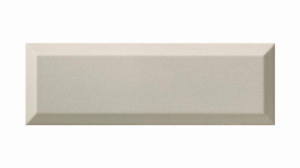 Bisel Brillo Light Grey Glossy 10x30cm