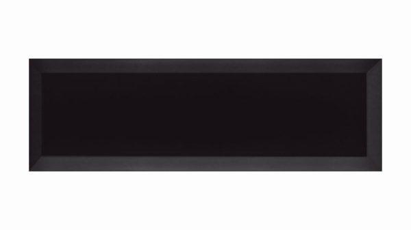 Bisel Brillo Black Glossy 10x30cm