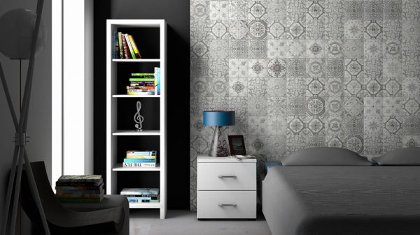 Nikea Sephia Matt Patterned Wall & Floor Tiles 20x20cm