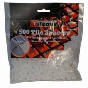 1mm Tile Spacers-500 Pack