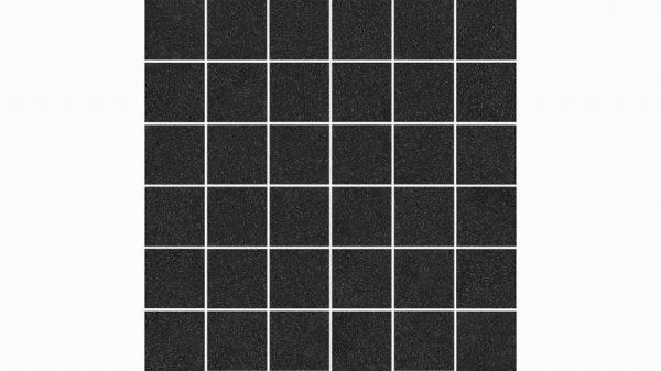 Strauss Mosaic Black Glazed 30x30cm