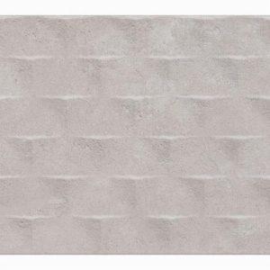 Canvas Gris Pyramid Decor 30x60cm
