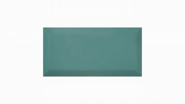 Bisel Brillo Turquoise Glossy 10x20cm