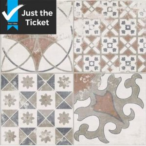Moroccan Patchwork Mix 45x45cm