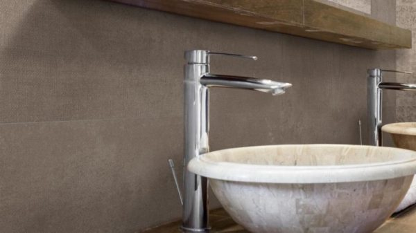 Lester Taupe Wall 25x70cm