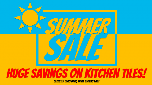 Summer Sale - Kitchen Tiles