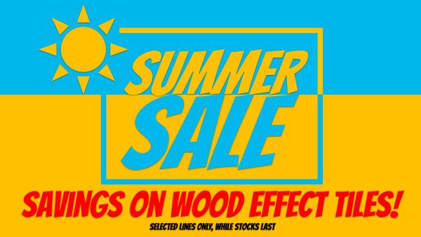 Summer Sale Wood Effect
