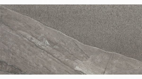 Arkon Grey Stone Effect Porcelain Wall & Floor Tiles 50x100cm